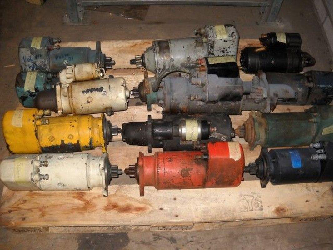 Käytettyjä käynnistysmoottoreita